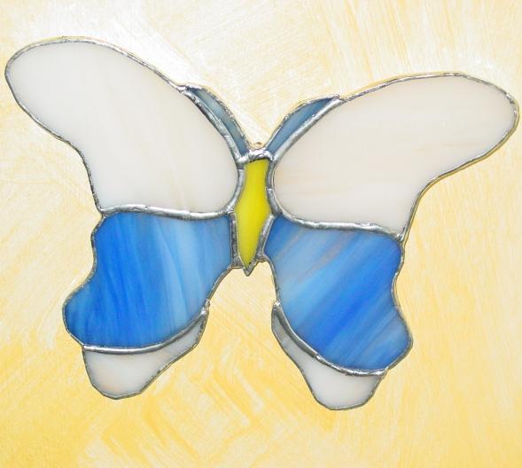 Farfalla in vetro tiffany