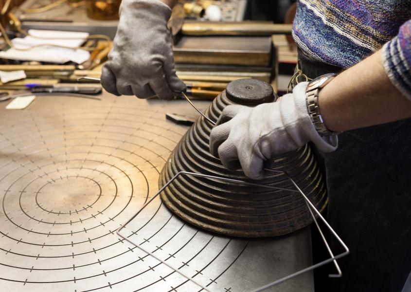 Nascita del telaio: piega del ferro