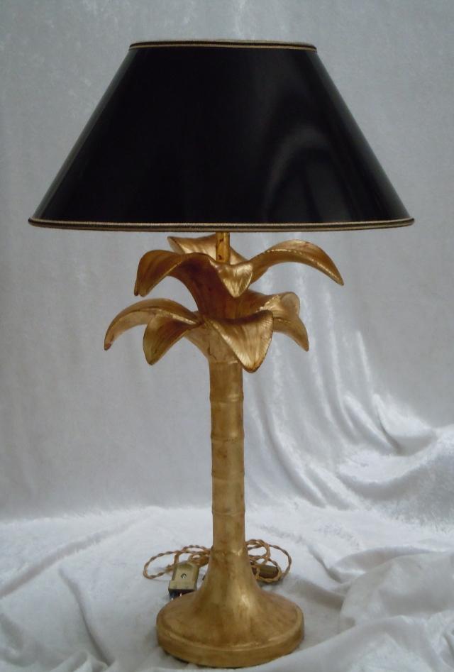 Tronco di cono con pergamena nera interno oro