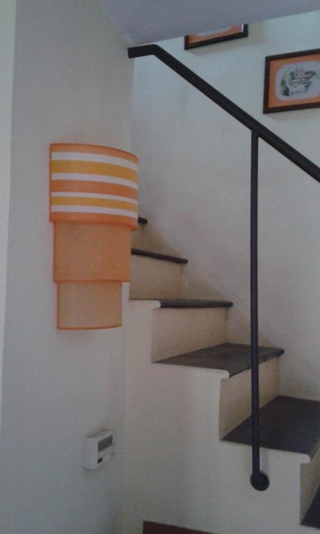 Ventola da muro arancio