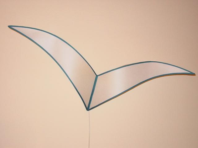 Ventola a forma di gabbiano